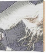 Avril Lavigne Wood Print