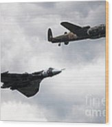 Avro Icons Wood Print
