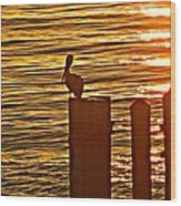 Late For Dinner Wood Print