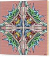 Awaken 63 Wood Print