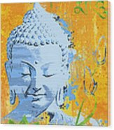 Awakened One Mantra Wood Print
