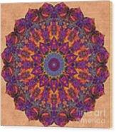 Awakening Lotus Wood Print