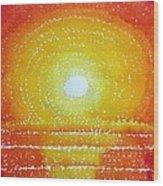 Awakening Original Painting Wood Print