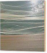 Awakening Sea Wood Print