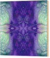 Awakening Spirit - Pattern Art By Sharon Cummings Wood Print