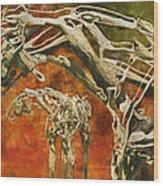 Aware Wood Print
