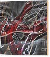 Awsome Pairing By Steven Langston Wood Print