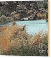 Ayer Lake Wood Print