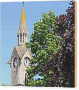 Aylesbury Market Square Wood Print