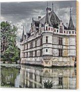 Azay-le-rideau Wood Print