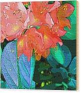 Azealia Wood Print