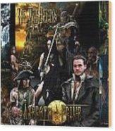 Azeroth Prime Movie Poster Wood Print