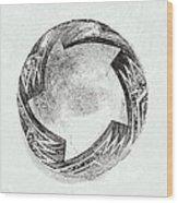 Aztec Bowl Wood Print