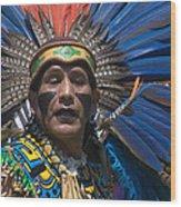 Aztec Dance Wood Print
