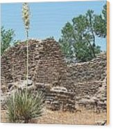 Aztec Ruins National Monument Wood Print