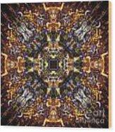 Aztec Treasure Wood Print