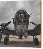 B-17 Dreams Wood Print