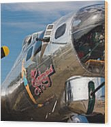 B-17 Flying Fortress Wood Print