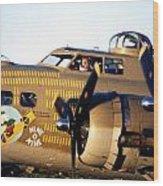 B-17 Nine O Nine Wood Print