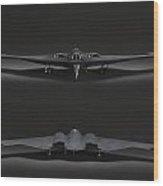 B-2 Bomber Wood Print