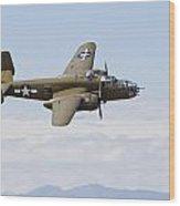 B-25j Mitchell Wood Print