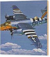 B-26b Marauder Wood Print