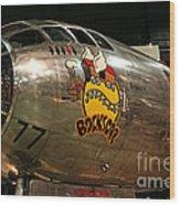 B-29 Bockscar Wood Print