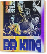 B. B. King Poster Art Wood Print