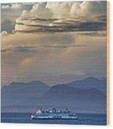 B C Ferries Hdrbt3403-13 Wood Print
