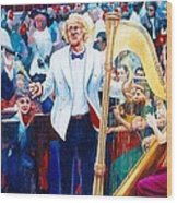 B07. The Singer And Conductor Wood Print