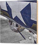 B17 Texas Raiders V12c Wood Print