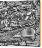 B17 Texas Raiders V14c Wood Print