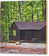 Babcock Cabin Wood Print
