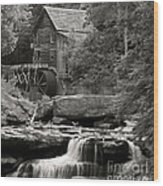 Babcock Grist Mill No. 1 Wood Print