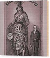 Babil And Bijou - Giant Amazon Queen Wood Print