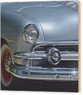 Baby Blue Ford Wood Print