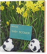 Baby Boomers Wood Print