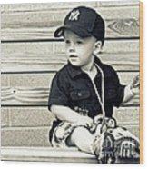 Baby Boy Wood Print