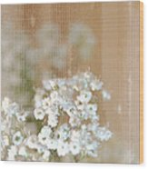 Baby Breath- Special Day Wood Print