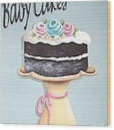 Baby Cakes Wood Print