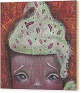Baby Cakes II Wood Print