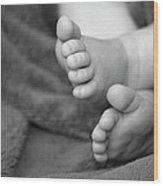 Baby Feet Wood Print