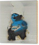 Baby Smurf Wood Print