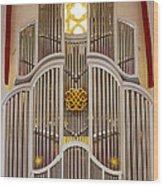 Bach Organ Leipzig Wood Print