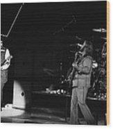 Bachman-turner Overdrive In Spokane In 1976 Wood Print