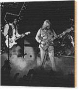 Bachman-turner Overdrive Smokin In Spokane 1976 Wood Print