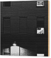 Back Alley 330am Wood Print