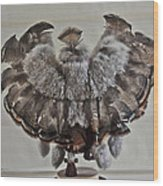Back Kachina Eagle Wood Print