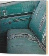 Back Seat Blues  Wood Print