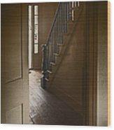 Back Stairway Wood Print